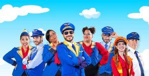 El Diario: Un avión lleno de monstruos, educa y divierte