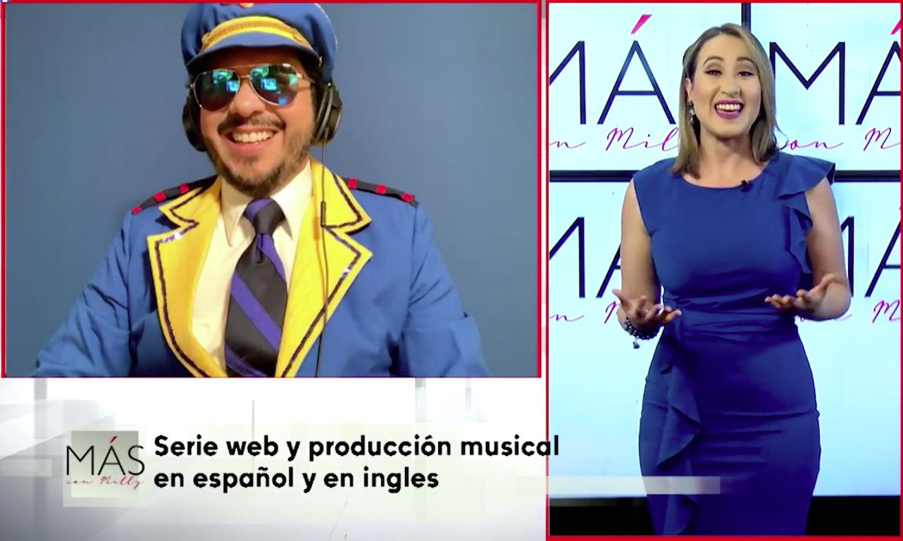 HOY en #MásConMilly   Conocemos una serie web para difundir y preservar la herencia hispana entre niños